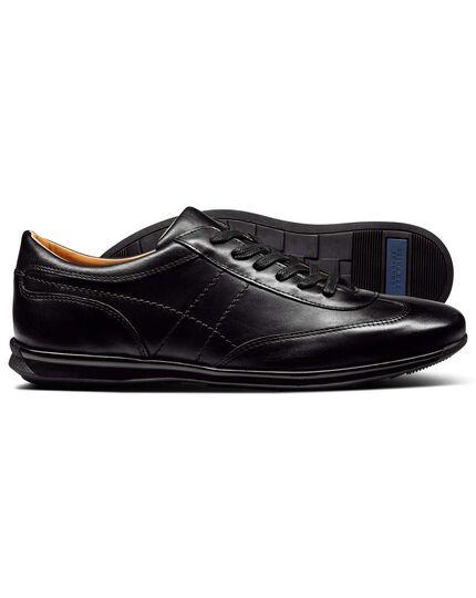 Black work sneaker