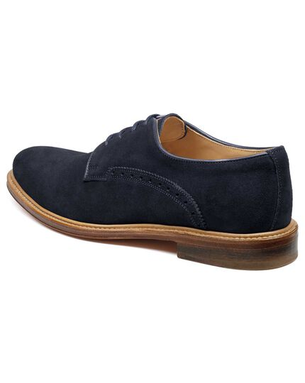 Navy Lambourne Derby shoes