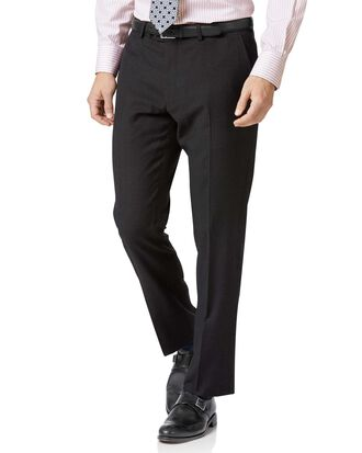 Pantalon de costume business charcoal en twill slim fit