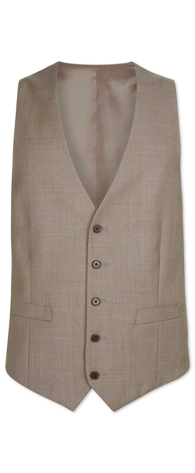 Fawn classic fit twill business suit