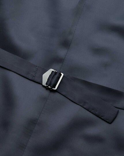 Airforce stripe slim fit Panama business suit vests