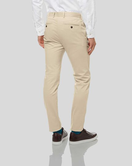 Ultimate Non-Iron Chinos - Stone