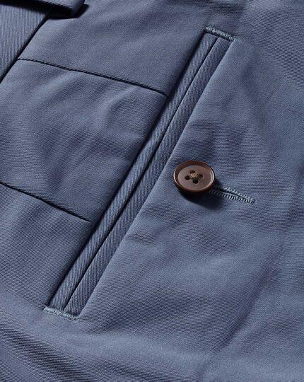 Blue extra slim fit stretch chinos