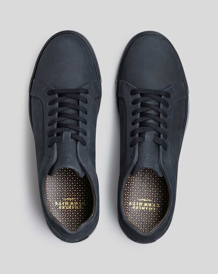 Nubuck Sneakers - Navy