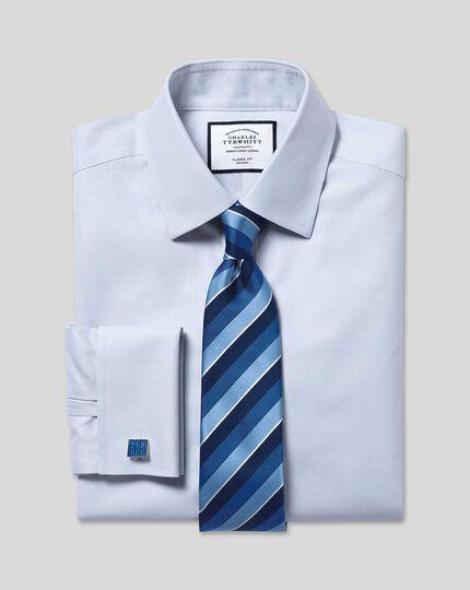 Non-Iron Twill Shirt - Silver