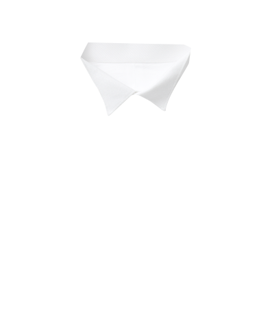 Slim fit wing collar luxury Marcella bib front white evening shirt