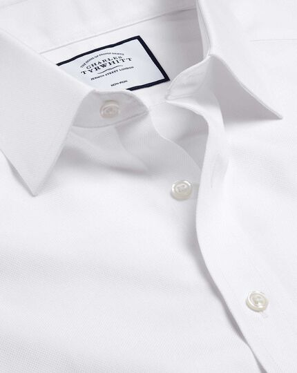 Non-Iron Royal Oxford Shirt - White