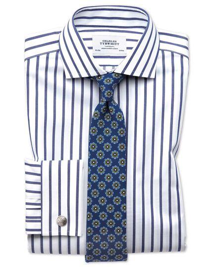 Royal wool printed wool Italian luxury tie