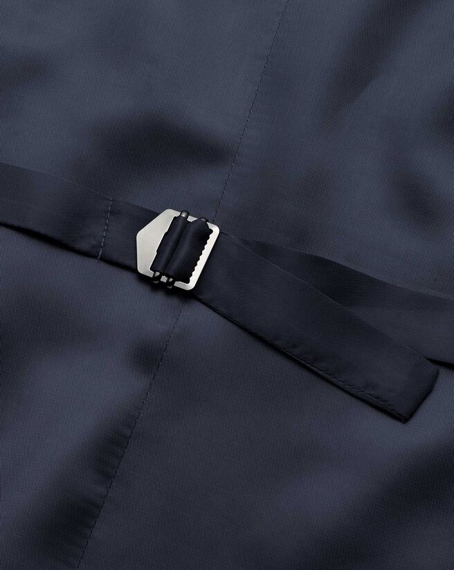 Costume business bleu clair slim fit à chevrons