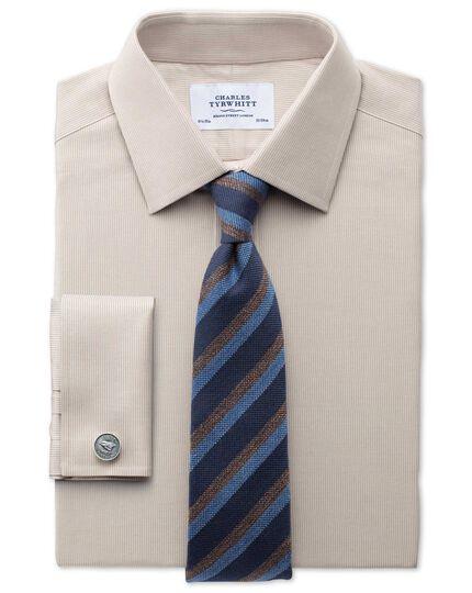 Slim Fit Oxfordhemd in leichtGrau