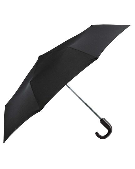 Black automatic compact umbrella