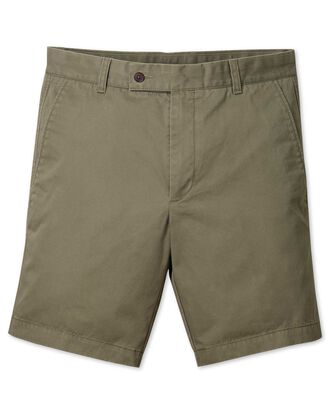 Chino-Shorts in Khaki
