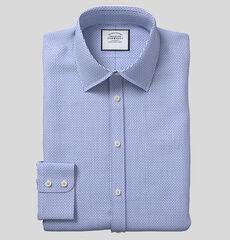 Charles Tyrwhitt Classic Collar Textured Design Shirt