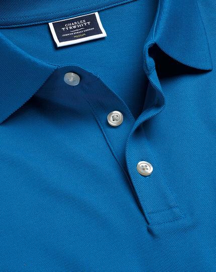 Tyrwhitt Piqué-Polo - Helles Blau