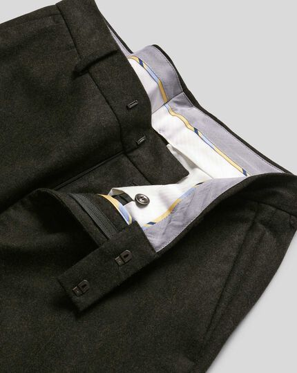 Flannel Pants - Dark Green
