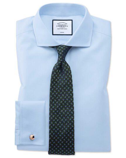 Green silk paisley classic tie