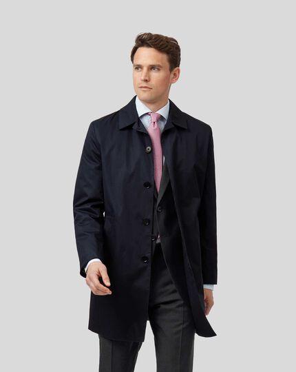 Italian Raincoat - Blue