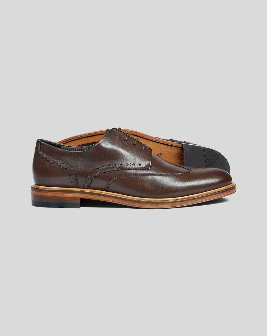 Derby Shoe  - Brown