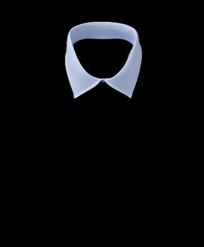 Slim fit non-iron sky blue puppytooth shirt
