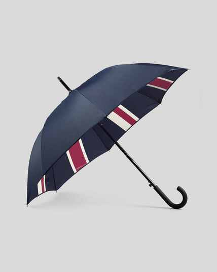 Union Jack Classic Umbrella - Navy & Red