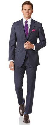 Airforce stripe slim fit Panama business suit