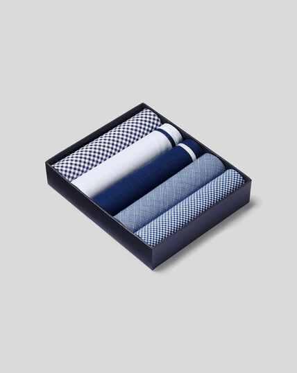 Einstecktuch-Set - Blau