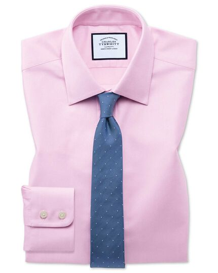 Royal Extra Slim Fit Oxfordhemd aus ägyptische Baumwolle in Rosa