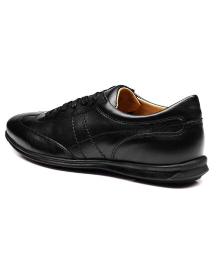 Black work sneakers