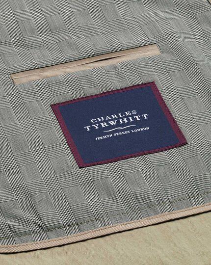 Imperméable gris clair en coton italienne