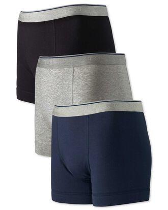 3er Pack Jersey-Unterhosen in Bunt