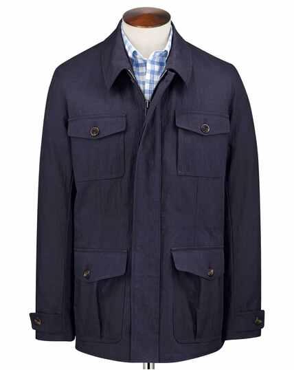 Navy field jacket