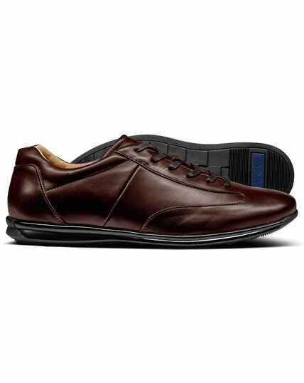 Brown work sneaker