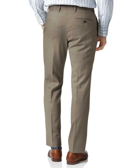 Fawn classic fit twill business suit Pants