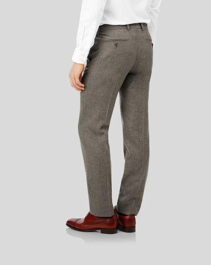 Flannel Trousers - Mocha