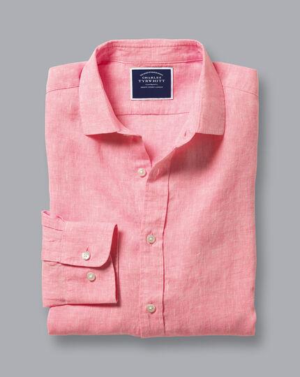 Linen Shirt - Pink