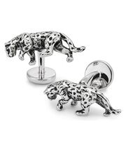 Antique jaguar cufflinks