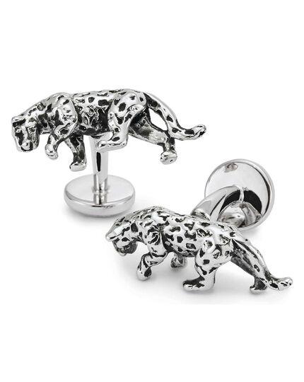 Antique jaguar cufflinks