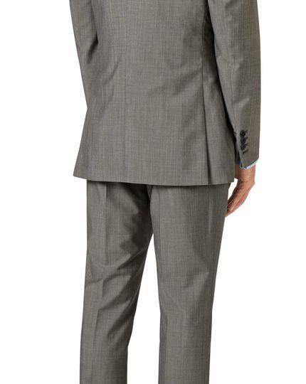 Italienisches Slim Fit Luxusanzug-Sakko in Grau