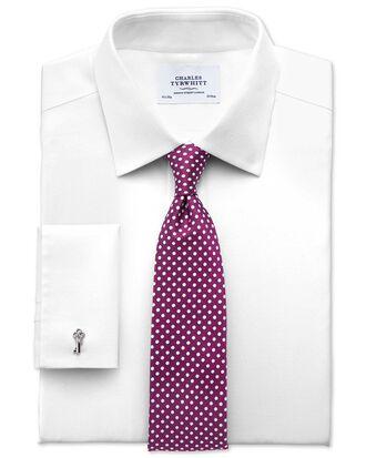 Chemise blanche en tissu impériale extra slim fit sans repassage