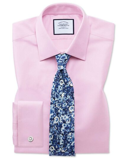 Classic fit Egyptian cotton royal Oxford pink shirt