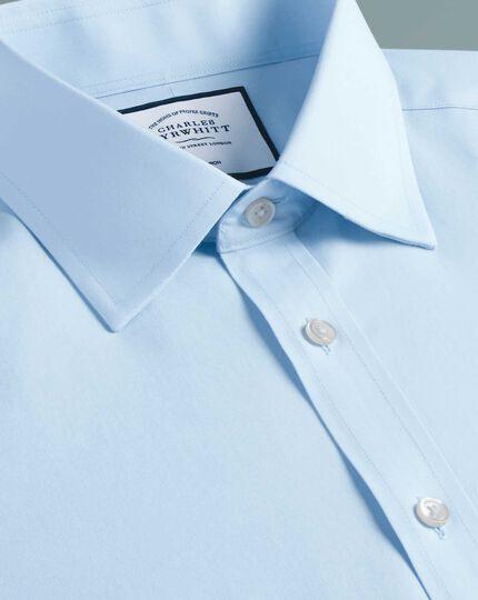 Classic fit non-iron spread collar sky blue Tyrwhitt Cool shirt