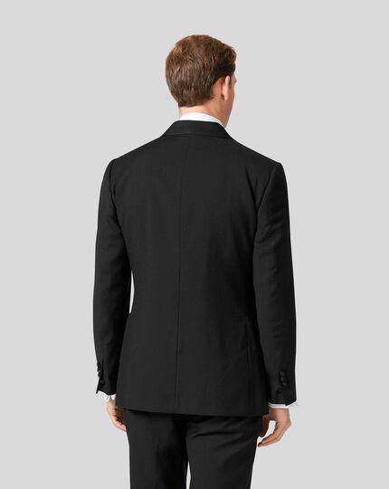 Veste de costume de soirée à col châle - Noir