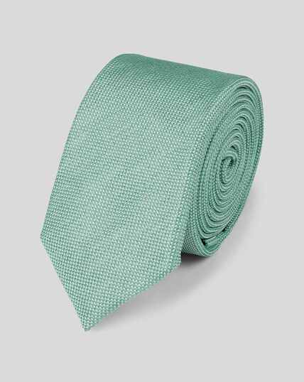 Slim Silk Tie - Light Green