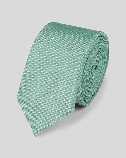 Silk Tie - Light Green
