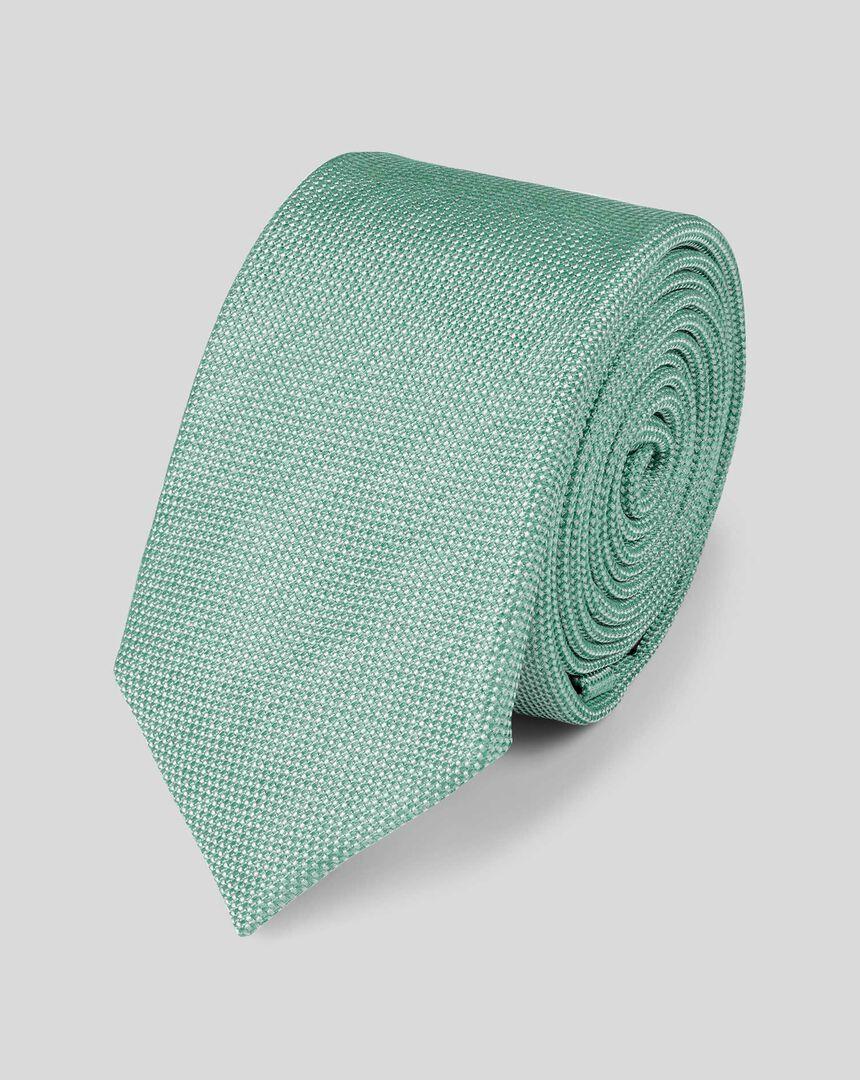 Slim Silk Tie - Light Green