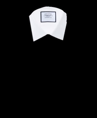 Slim fit Egyptian cotton royal Oxford white shirt