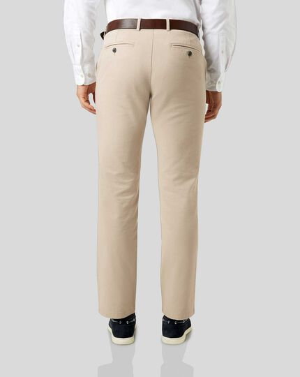 Soft Washed Chinos  - Stone