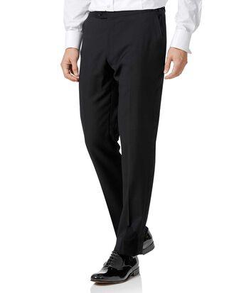 Black slim fit dinner pants
