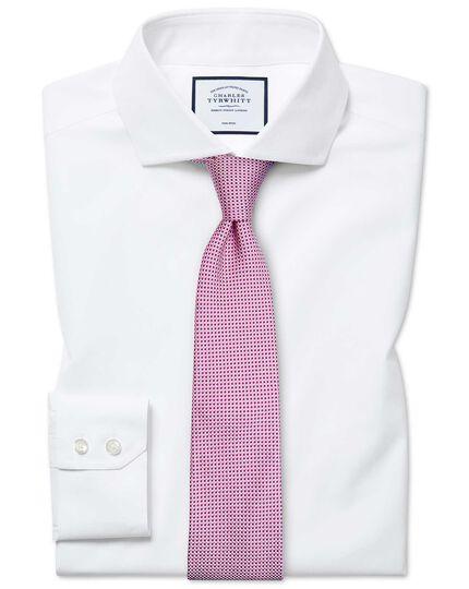 Extra slim fit non-iron spread collar white Tyrwhitt Cool shirt