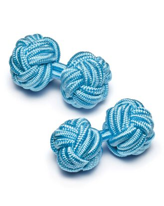 Sky knot cufflinks